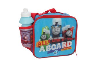 Thomas And Friends Childrens/Kids Lunch Bag And Water Bottle (Blue) (One Size)