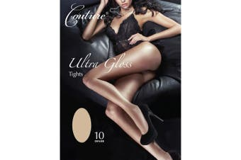 Couture Womens/Ladies Ultra Gloss Tights (1 Pair) (Nude) - UTLW395