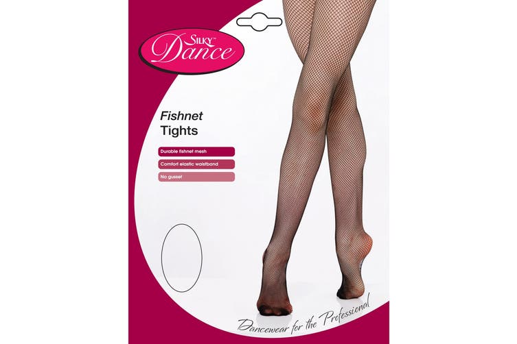 Silky Womens/Ladies Dance Fishnet Tights (1 Pair) (Natural) (X-Large)