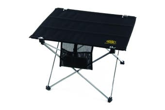 Small Foldable Compact Table (Black) (One Size)