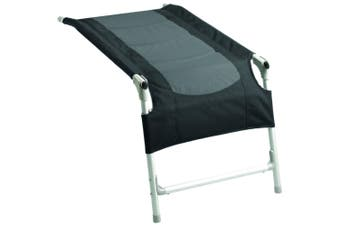 Brunner Kerry Limbo Comfort Camping Foot Rest (Two Tone Dark Grey) (One Size)