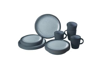 Granyte Plain 16 Piece Dinner Set (Grey) (One Size)