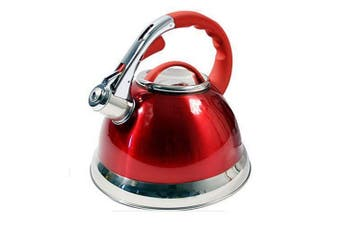Prima 3.5L Whistling Kettle (Red) (One Size)
