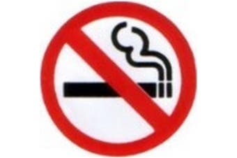 W4 No Smoking Sticker (Red/White/Black) - UTMD311