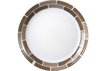 Brunner Melamine Side Plate (20cm) (Chocolate) (20cm)