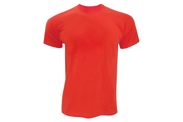 Fruit Of The Loom Mens Original Short Sleeve T-Shirt (Red) (3XL)