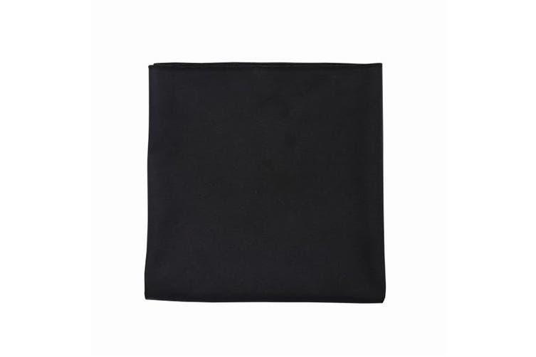 SOLS Atoll Microfibre Hand Towel (Black) (50 x 100 cm)