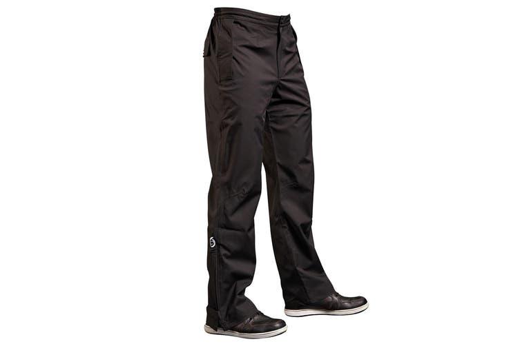 Sunderland Mens Lightweight Waterproof Trousers (Black) (XXL/S)