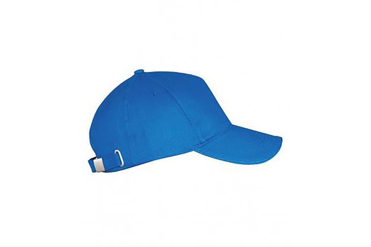 SOLS Unisex Long Beach Cap (Royal Blue) (One Size)