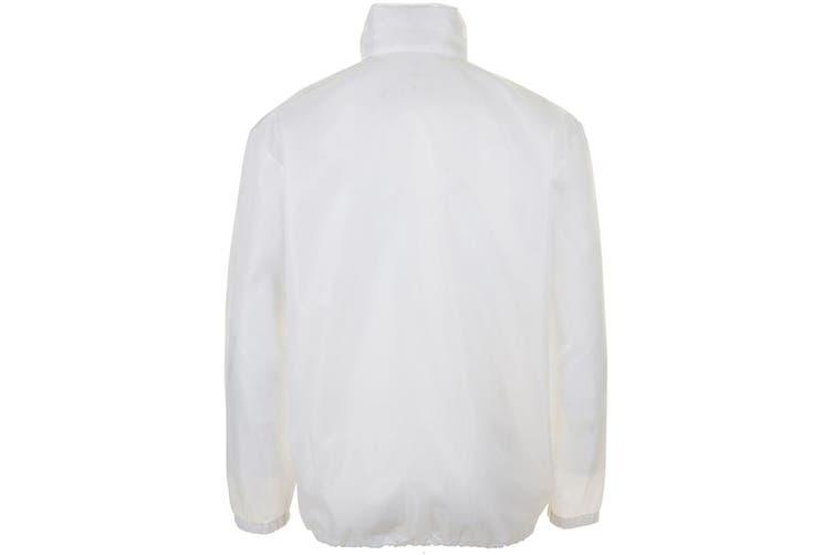 SOLS Unisex Shift Showerproof Windbreaker Jacket (White) (XS)