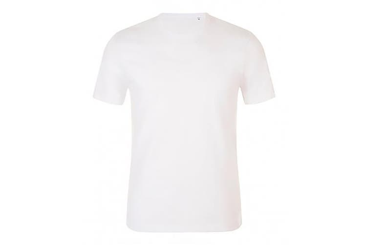 SOLS Mens Murphy Slim Fit T-Shirt (White) (XXL)