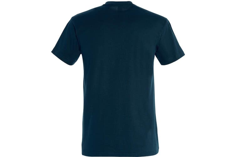 SOLS Mens Imperial Heavyweight Short Sleeve T-Shirt (Petroleum Blue) (S)
