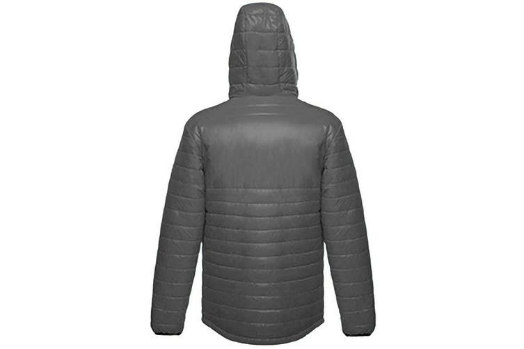 Regatta X-Pro Mens Icefall II Down-Touch Padded Jacket (Seal Grey) (XL)