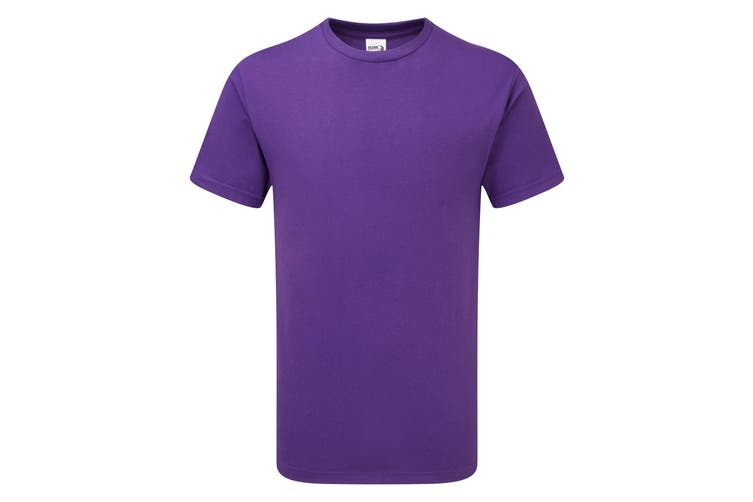 Gildan Mens Hammer Heavyweight T-Shirt (Sport Purple) (L)