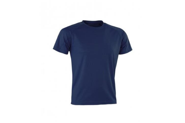 Spiro Mens Aircool T-Shirt (Navy) (XXL)