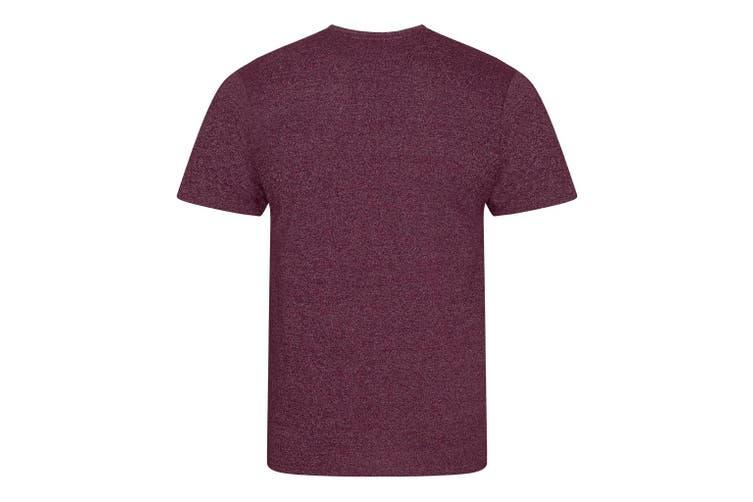 Ecologie Mens Tulum Contrast T-Shirt (Burgundy/White) (XS)