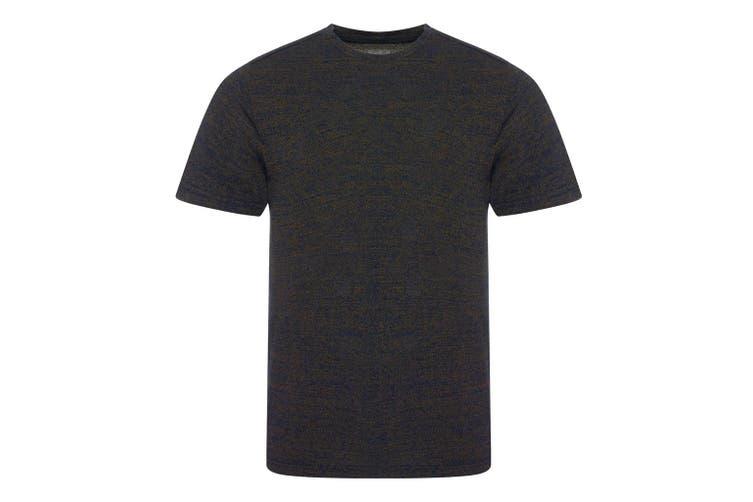 Ecologie Mens Tulum Contrast T-Shirt (Navy/Gold) (XS)