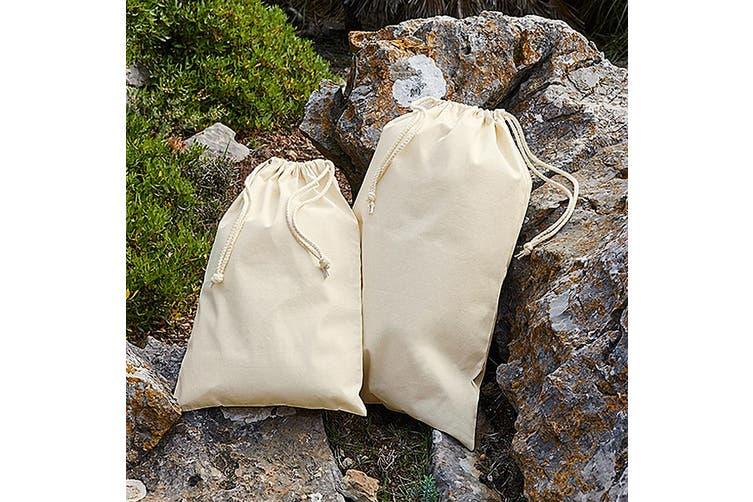 Westford Mill Premium Cotton Stuff Bag (Natural) (S)