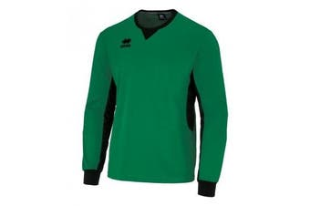 Errea Unisex Simon Long Sleeved Goalkeeper Shirt (Green/Black) (XL)