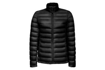 SOLS Womens/Ladies Wilson Lightweight Padded Jacket (Black) (L)