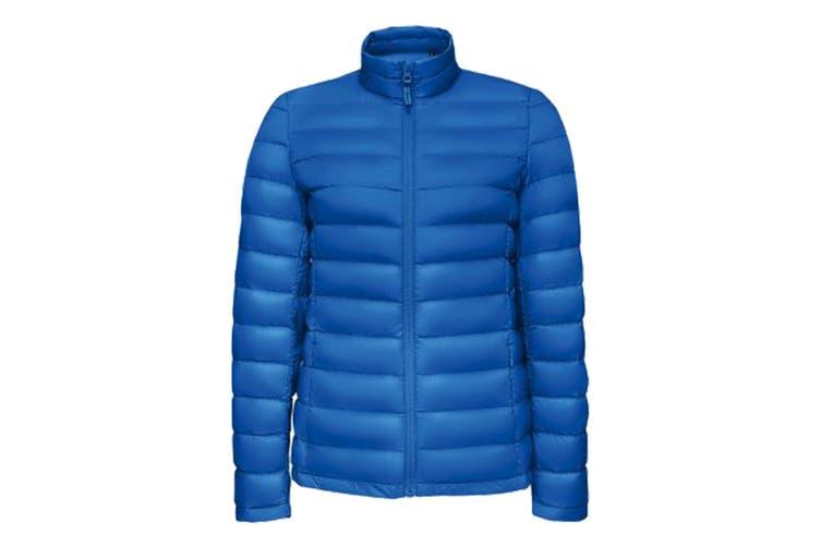 SOLS Womens/Ladies Wilson Lightweight Padded Jacket (Royal Blue) (M)