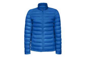 SOLS Womens/Ladies Wilson Lightweight Padded Jacket (Royal Blue) (XL)