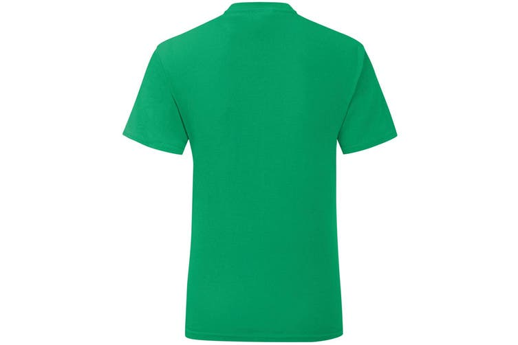 Fruit Of The Loom Mens Iconic T-Shirt (Kelly Green) (L)