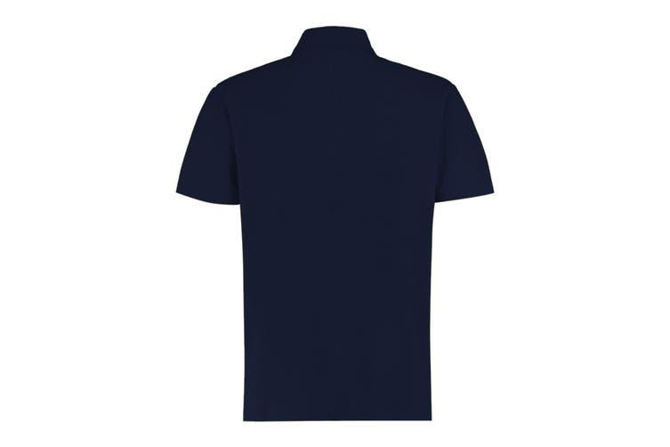 Kustom Kit Mens Regular Fit Workforce Pique Polo Shirt (Navy) (S)
