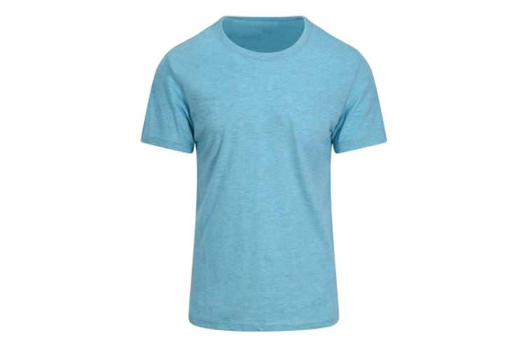 AWDis Just Ts Mens Surf T-Shirt (Surf Ocean Blue) (XL)