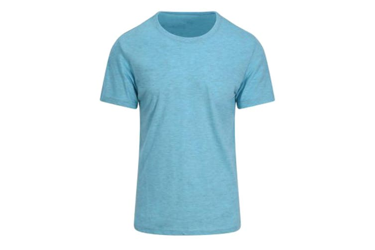 AWDis Just Ts Mens Surf T-Shirt (Surf Ocean Blue) (XS)