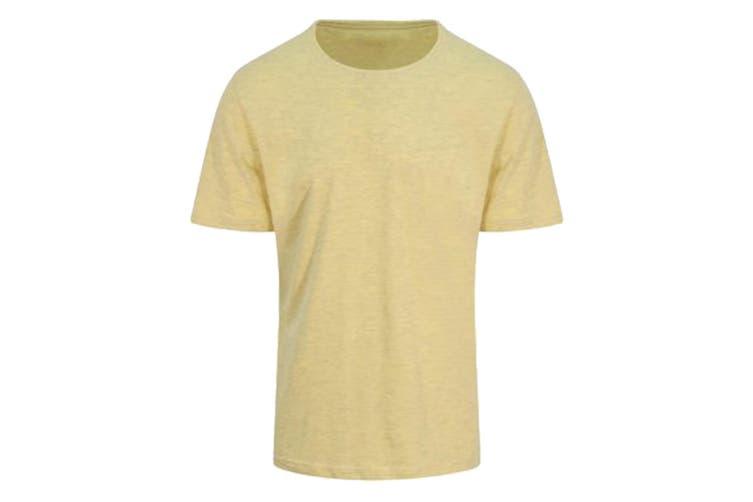 AWDis Just Ts Mens Surf T-Shirt (Surf Yellow) (L)