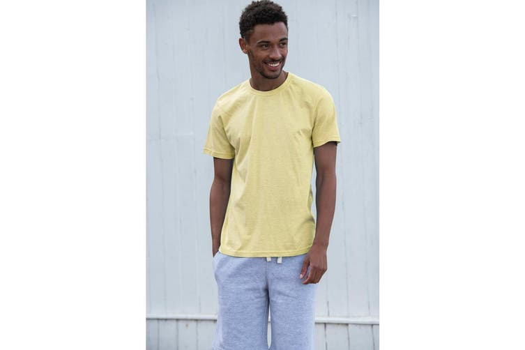 AWDis Just Ts Mens Surf T-Shirt (Surf Yellow) (M)