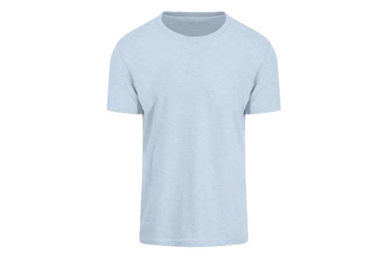 AWDis Just Ts Mens Surf T-Shirt (Surf Blue) (XL)