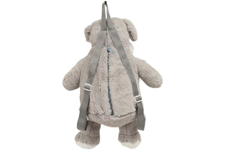 Mumbles Zippie Dog Backpack (Light Grey) (One Size)