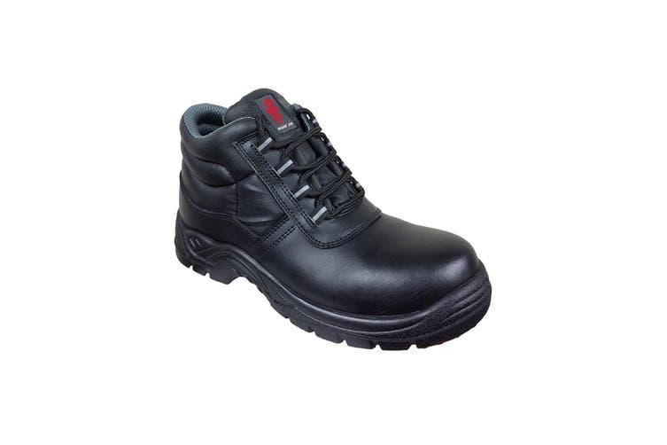 Warrior Mens Composite Chukka Boots (Black) (9 UK)