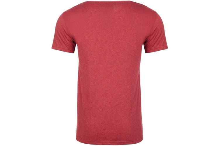 Next Level Adults Unisex CVC Crew Neck T-Shirt (Cardinal Red) (S)