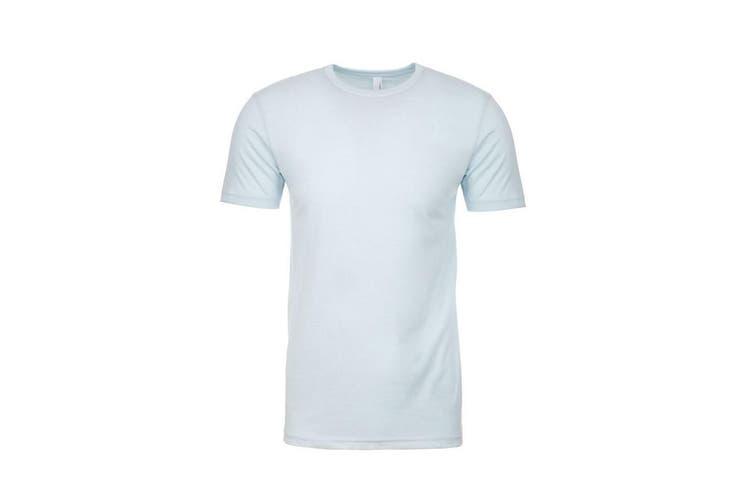 Next Level Adults Unisex CVC Crew Neck T-Shirt (Ice Blue) (XL)