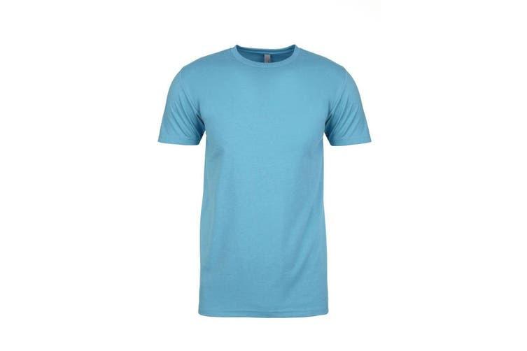 Next Level Adults Unisex CVC Crew Neck T-Shirt (Bondi Blue) (XL)