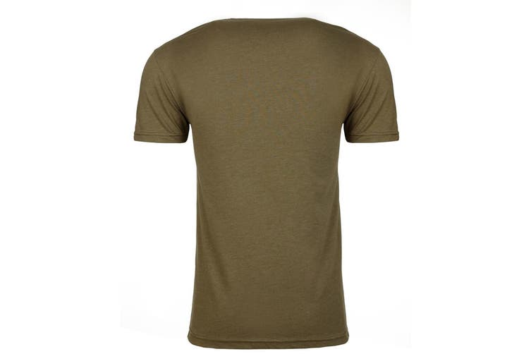 Next Level Adults Unisex CVC Crew Neck T-Shirt (Military Green) (M)