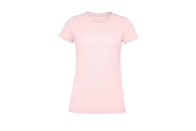 SOLS Womens/Ladies Regent Fit T-Shirt (Heather Pink) (XXL)