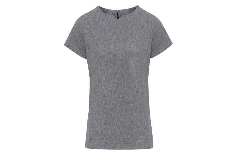 Premier Ladies Viola Tunic (Heather Grey) (12)