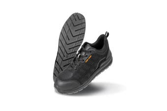 Result Work-Guard Unisex All Black Safety Trainers (Black) (12 UK)