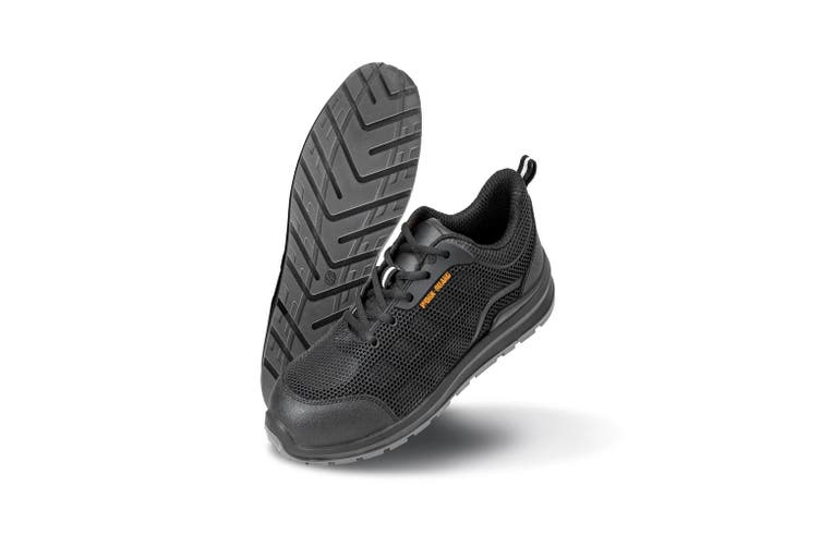 Result Work-Guard Unisex All Black Safety Trainers (Black) (11 UK)