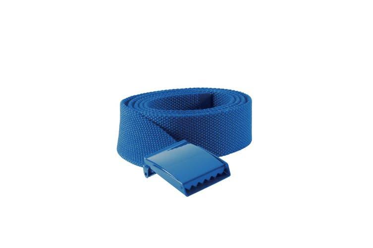 K-UP Polyester Belt (Royal Blue) (One Size)