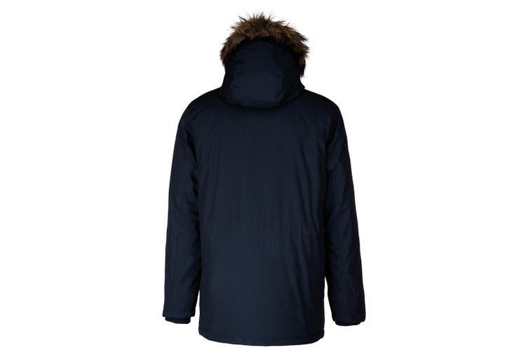 Kariban Adults Unisex Winter Parka Jacket (Navy) (L)