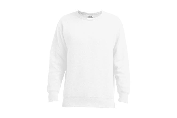 Gildan Adults Unisex Hammer Sweatshirt (White) (XL)