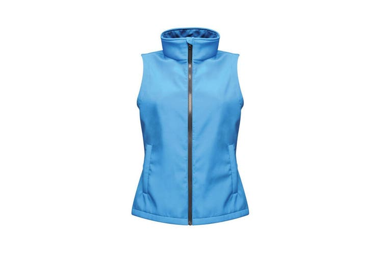 Regatta Professional Ladies/Womens Ablaze Soft Shell Bodywarmer (French Blue/Navy) (12)