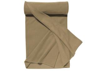 SOLS Plaid Pill Resistant Fleece Blanket (Rope) (ONE)