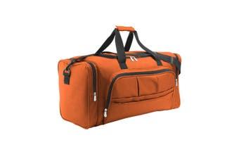 SOLS Weekend Holdall Travel Bag (Orange) (ONE)