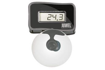 Juwel Digital Aquarium Thermometer (Black/Silver) (One size)